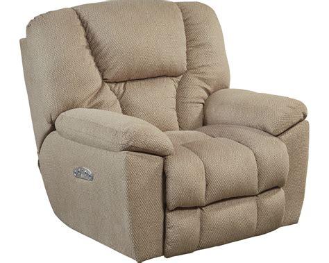 lay flat recliners catnapper owens power headrest power lay flat recliner