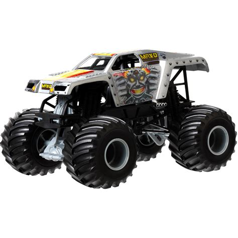 monster jam trucks wheels wheels monster jam 1 24 el toro loco die cast vehicle