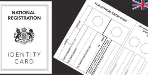printable ww2 identity card world war 2 ration book template