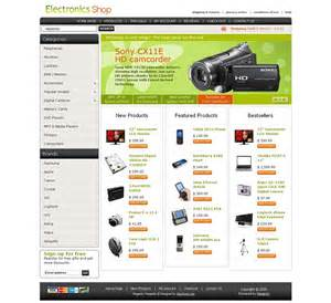 template magento mg04a00433 magento template for electronic stores