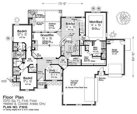 fillmore design floor plans f1915 fillmore chambers design group