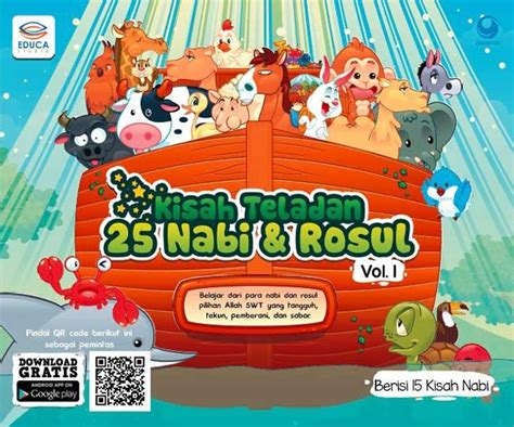 judul film kisah nabi nuh kisah teladan 25 nabi dan rosul vol 1 dunia belajar anak
