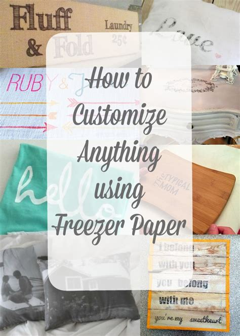 Freezer Paper Craft Ideas - 25 best ideas about freezer paper stenciling on