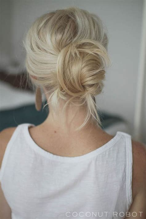 easy to make summer hairstyles 15 easy summer hairstyle bun 2016 modern fashion blog