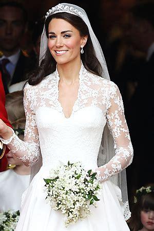 Wedding Bouquet Of Kate Middleton by Kate Middleton Wedding Dress Picture Royal Wedding