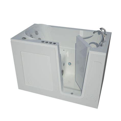 allure walk in tubs 5 ft right drain universal tubs 4 5 ft left drain walk in whirlpool bath