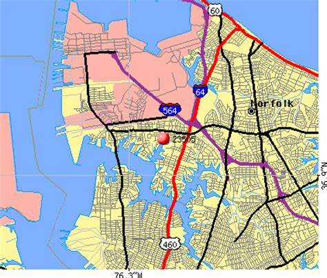 zip code map norfolk va 23505 zip code norfolk virginia profile homes