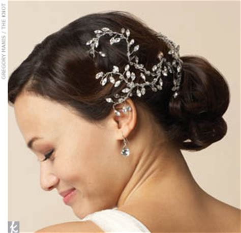 hairstyles with hair vines wedding hair accessories wedding hairstyles with veil