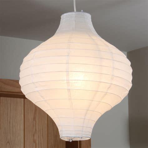 Paper Pendant Lights White Paper Fluted Pendant Imperial Lighting