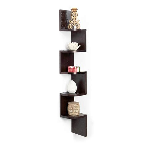 Best Shelf by Forzza Vincent Corner Wall Shelf Wenge Best Home And Kitchen Store