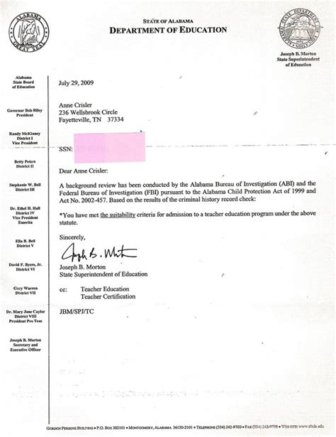 Reference Letter Format For Clearance Certificate Professionalism Crisler Student Teaching Portfolio