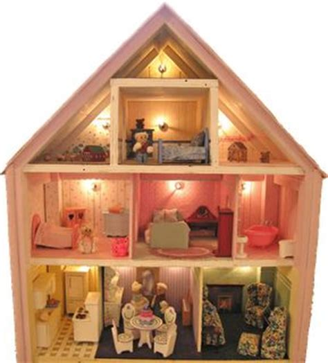 doll house with lights dollhouses christmas lights and lights on pinterest