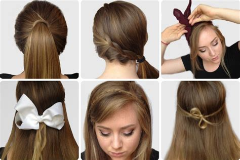easy unique hairstyles for school 6 easy hairstyles for finals week easy