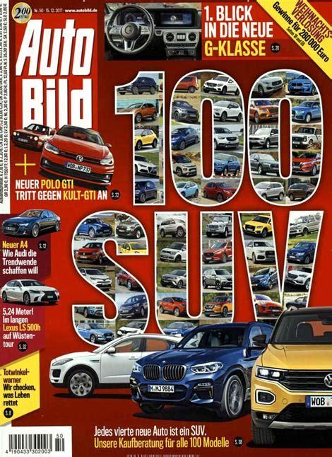 Abo Auto Bild by Auto Bild Abo Auto Bild Probe Abo Auto Bild Geschenkabo