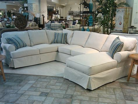 Slipcover Sofa Sectional Awesome Slipcovers For Sectional Couches Homesfeed