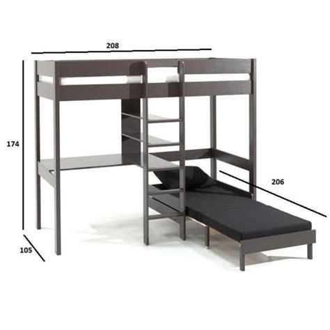 lit mezzanine avec bureau pas cher lit mezzanine bureau pas cher maison design modanes com