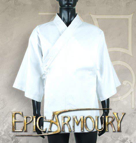 Shrink Hips Xss Korset kimono epic armoury x small small white live rollespil kelz0r dk