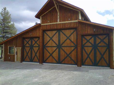 barn garage doors home depot