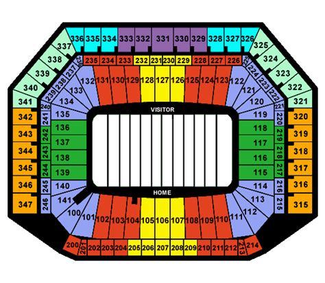 Ford Field Tickets by Ford Field Football Tickets