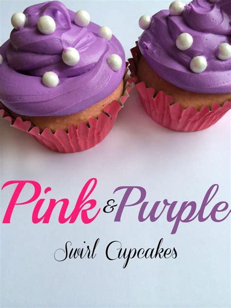 pink  purple swirl princess cupcakes moments  mandi
