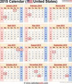 free 2015 calendar template with holidays 2015 calendar with federal holidays excel pdf word templates