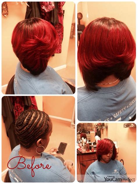 instagram sew in hair styles full sew in bob with no leave out boblife sewinbob