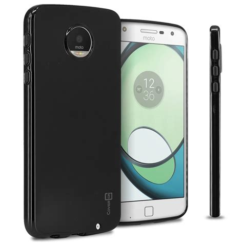 Motorola Moto C Plus Armor Rugged Slim Tpu Soft Carbon for motorola moto z play droid tpu slim lightweight phone cover ebay