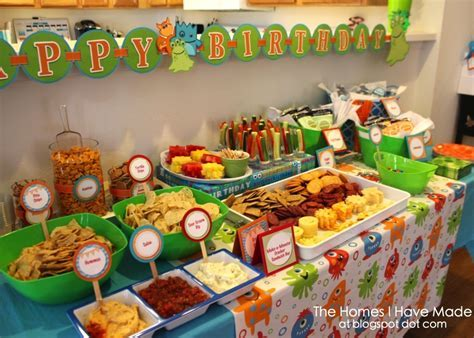 A Monster of a First Birthday Party   Project Nursery