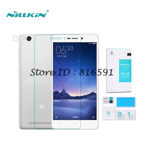 Tempered Glass Xiaomi Redmi 3 3s 3x 3 Pro Screen Guard Anti Gores Kaca ᑐxiaomi redmi 3 tempered glass glass 5 0 inch nillkin amazing ᗚ h h anti explosion screen