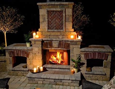 faux outdoor fireplace 17 best images about outdoor fireplace on outdoor fireplace plans pits and