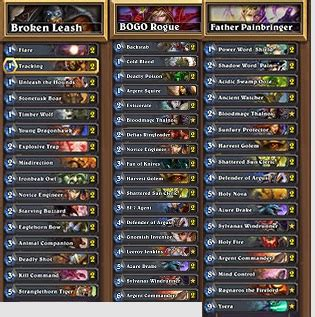 Hearthstone Priest Deck by The Gallery For Gt Hearthstone Priest Deck