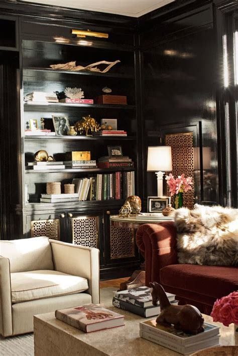 Home Decor In Atlanta by Black Wall Painted Rooms