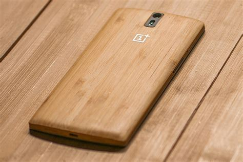 bamboo oneplus one oneplus one bamboo styleswap back cover unveiled for 49