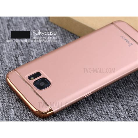 Ipaky For Samsung Galaxy S7 ipaky 3 in 1 electroplating pc phone for samsung