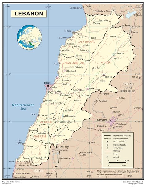map of lebanon large detailed map of lebanon lebanon large detailed map vidiani maps of all countries