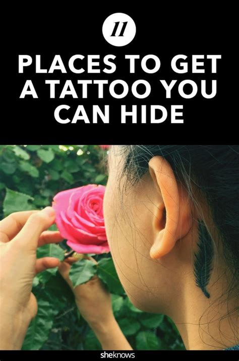 tattoo placements that are easy to hide youtube hidden places of pictures to pin on pinterest tattooskid