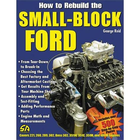 ford big block parts interchange books book how to rebuild the small block ford