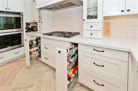 smart kitchen cabinets save your space smart kitchen cabinets diyspins
