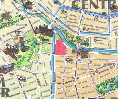 amsterdam museum district map 17 best images about a m s t e r d a m on pinterest