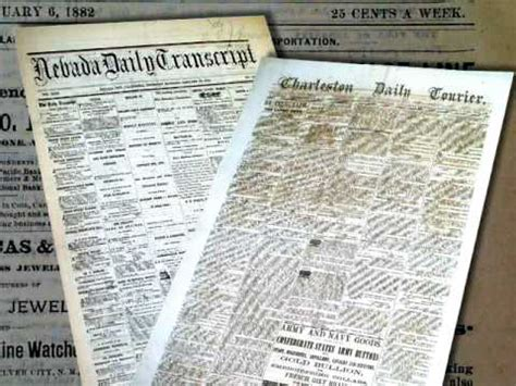 19th century u s newspapers collecting 19th century authentic newspapers