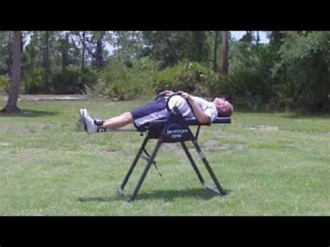Invertion Table Tl 8520 how does an inversion table work a listly list