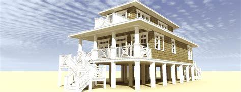 small beach house plans on pilings small beach house plans on stilts escortsea