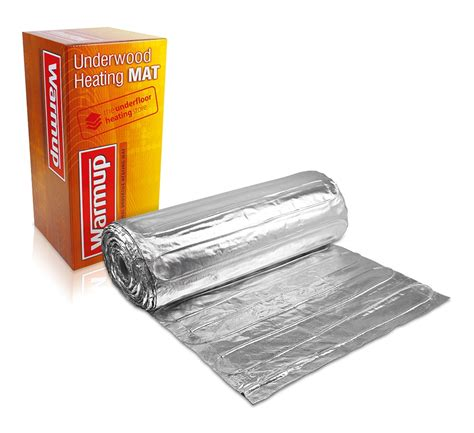 warmup foil underfloor heating kit warmup electric