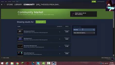 how to get a background on steam how to get steam backgrounds from the market