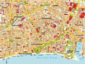 Map Of Nice France by Map Nice C 244 Te D Azur France Maps And Directions At Map