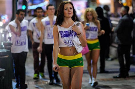 themed party nights birmingham world cup carnage football fever hits streets as carnage