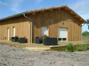 deck 40 maison ossature bois landes constructeur