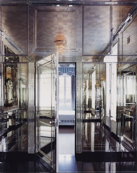 mirrored bathroom walls habitually chic 174 mirror mirror on the wall