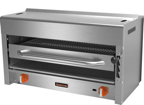 Commercial Kitchen Broiler by Srs 36 Countertop Gas Salamander Broiler 39in W