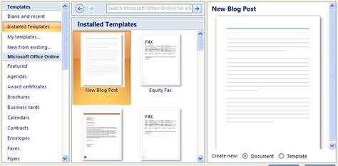 creating a document using a template template 171 editing